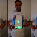 camiseta jugable de tetris