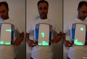 El Hombre que inventó la tetris-shirt