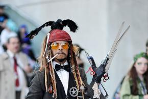 Todos los Johnny Depp en uno