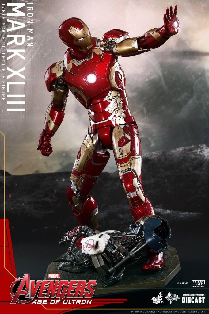 Nueva armadura de Ironman