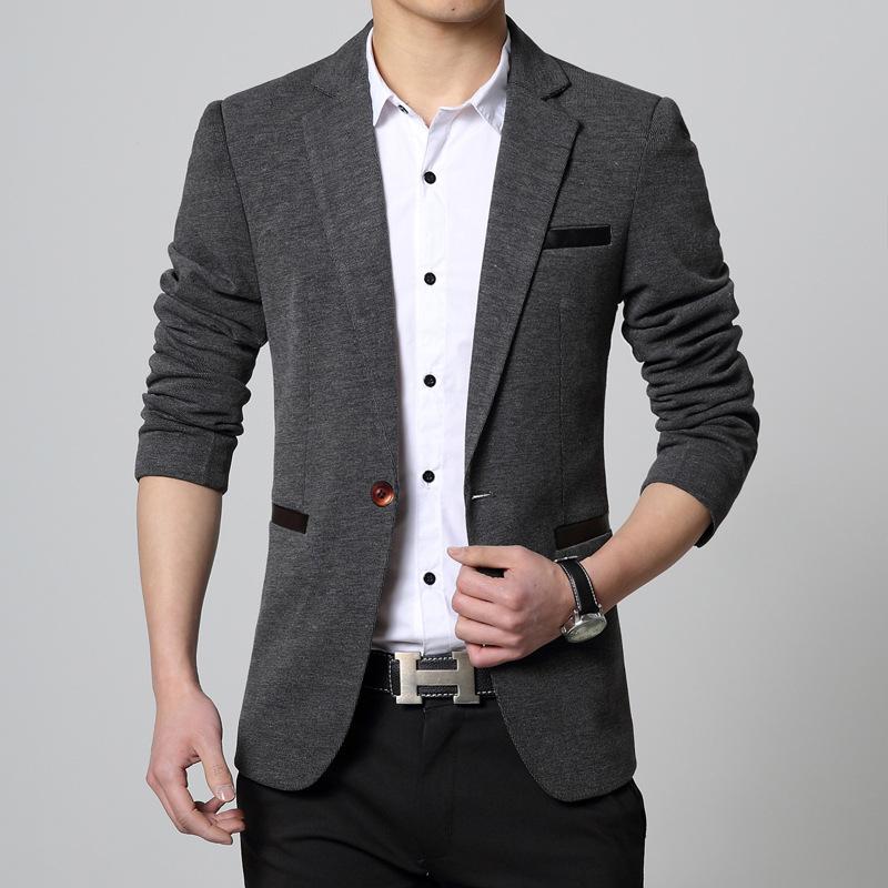 Alta-calidad-hombres-Blazer-Casual-Slim-Fit-traje-chaqueta-de-moda-de-ropa-de-marca-elegante